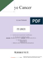 cancer research - laura waldsmith