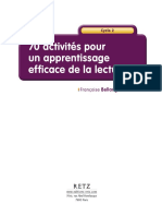 Extrait 70 Activites Pour Un Apprentissage Efficace de La Lecture RETZ