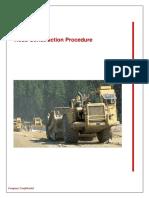 Procedure Road Construction