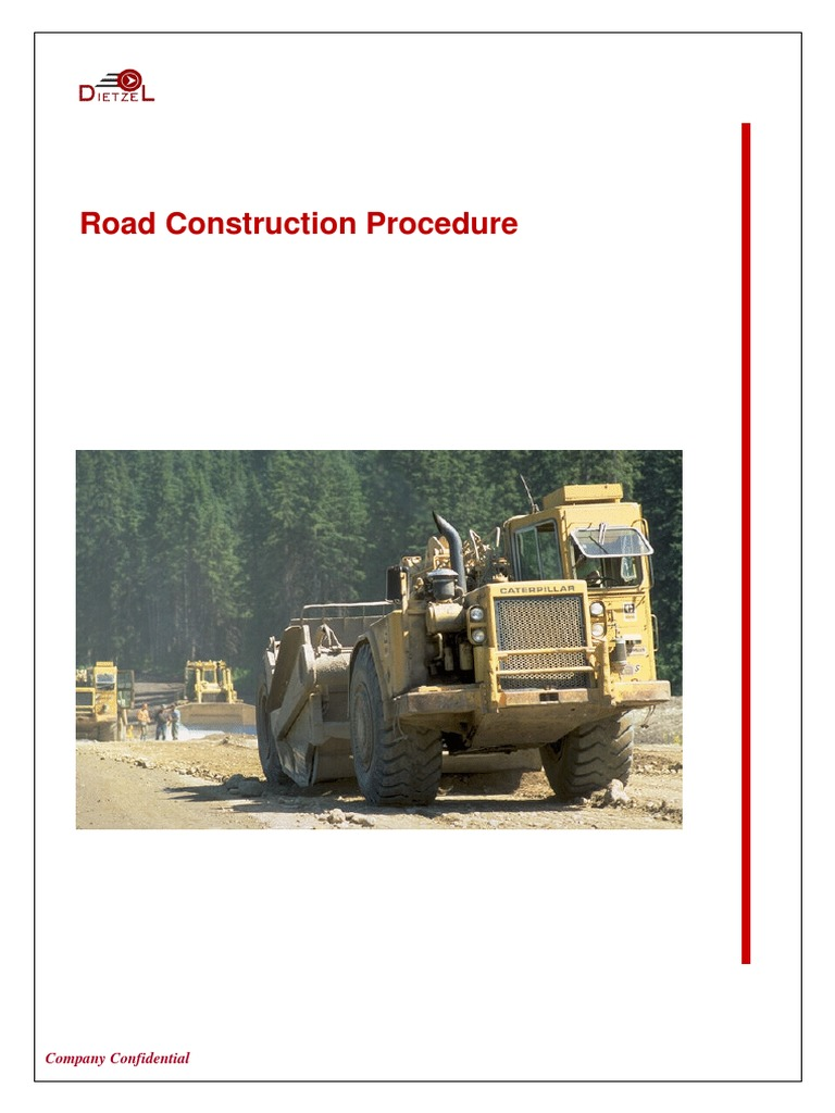 Procedure Road Construction | Road Surface | Road