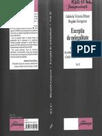Excepţia de Nelegalitate. Jurisprudenţa Secţiei de Contencios Administrativ Şi Fiscal a ÎCCJ - Vol II - G.v.bîrsan, B.georgescu - 2007