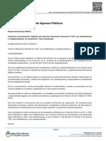 Ente Nacional de Comunicaciones Resolucion 1299/17