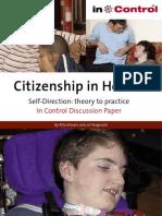Citizenship in Health Report 2010
