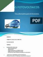 Presentación Sistemas Fotovoltaico