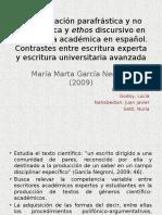 García Negroni, M. M. - Reformulación Parafrástica y No Parafrástica
