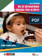 Guía de Capacitación Uso de Micronutrientes