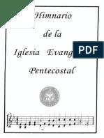 Himnario Iglesia evangelica pentecostal Completo