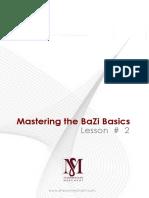 Mastering BaZi Lesson 2