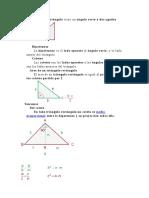 Un Triangulo Rectangulo