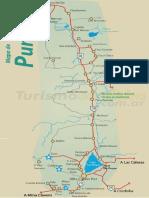 Mapa de Punilla