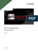 Manual Garmin Gps SEAT IBIZA ITECH 2014