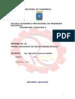 Informe Del Travel Geológico de Geologia II