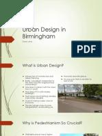 Urban Development in Birmingham