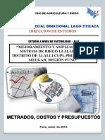 Informe de Costos