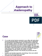 1.Approach to Lymphadenopathy