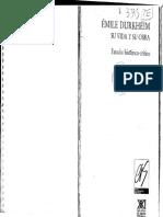 Lukes Steven - Émile Durkheim. Su Vida y Su Obra (Selección)
