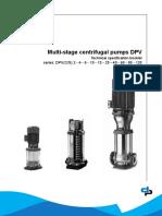 Documents.mx Dpv Vertical Multistage Pumps 60 Hz Technical Data Dp Pumps