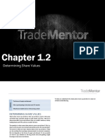 1 2 Determining Share Values