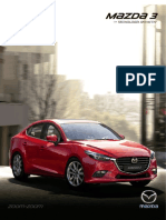 Ficha Tecnica Mazda 3 2017 para Colombia