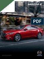 Ficha tecnica Mazda 6 2017 para Colombia