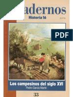 Cuadernos Historia 16, nº 033 - Los Campesinos del Siglo XVI.pdf