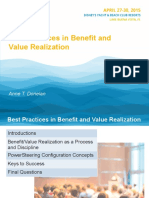 PS2802 Best Practices in Benefit and Value Realization Anne Donelan Benefits Pres