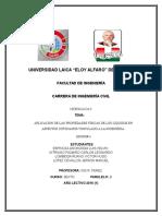 APLICACIÓN DE LAS PROPIEDADES FÍSICAS DE LOS LÍQUIDOS EN ASPECTOS COTIDIANOS VINCULADO A LA INGENIERÍA.