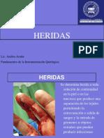 2015 Presentacion  Heridas