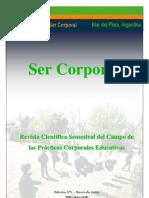 Revista Ser Corporal Nº1 - Enero 2009