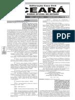 Diário oficial do Estado do Ceará
