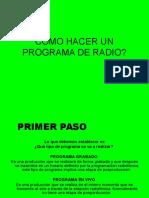 Cómo Hacer Un Programa de Radio