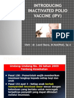 Introducing IPV (Dr. Looni, Sp.a)