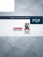 Catalogo Grupos de Pesquisa 2015 Ufpe