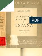 Realidad Historica de España a Castro1er Cap