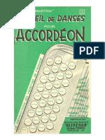 sheets_Editions Musicales Séduction - Recueil de Danses pour Accordéon (26 Titres) (Recueil n°3)