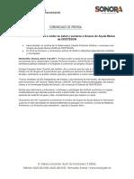 03/01/17 Invita Claussen Iberri a Cuidar Su Salud y Sumarse a Grupos de Ayuda Mutua de ISSSTESON –C.011711