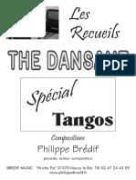 Sheets_Philippe Brédif - Recueil _ Thé Dansant Spécial Tangos (33 Titres)