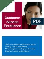 Materi Pelatihan Customer Service Excellence