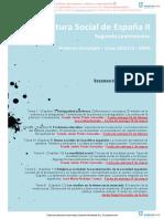 RESMENES Bibliografa Obligatoria. Estructura Social de Espaa II