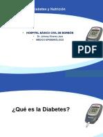 Diabetes y Nutrición