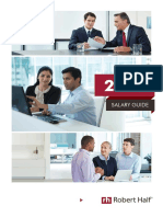 RobertHalf UK Salary Guide 2016