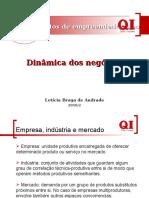 Mercado - Dinamica Dos Negocios