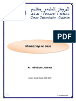 Cours Complet de Marketing de Base S3 Pr Hind Malainine