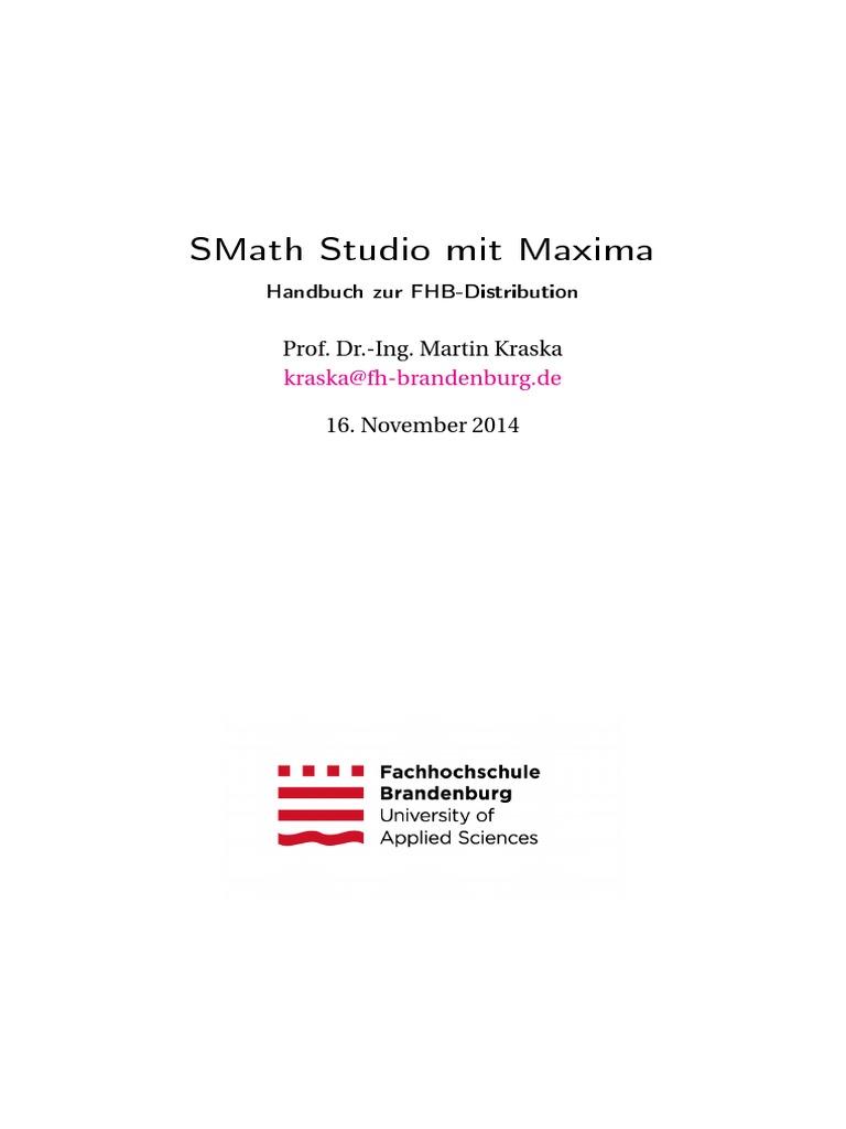 SMath Studio Con Maxima - Kraska