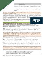 educ 4490 - movement lesson plan