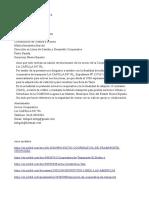 Modelo Carta Solicitud de Taxis Por Cooperativa