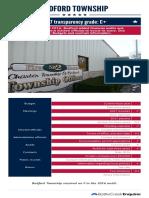 2017 Bedford Township scorecard
