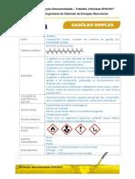 Ficha Técnica Combustível - Gasóleo