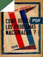 Como Resolver Los Problemas Nacionales