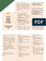 Leaflet Mobilisasi Dini Pada Pasien Pasca Operasi